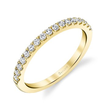 14k Gold Prong Set Diamond Band