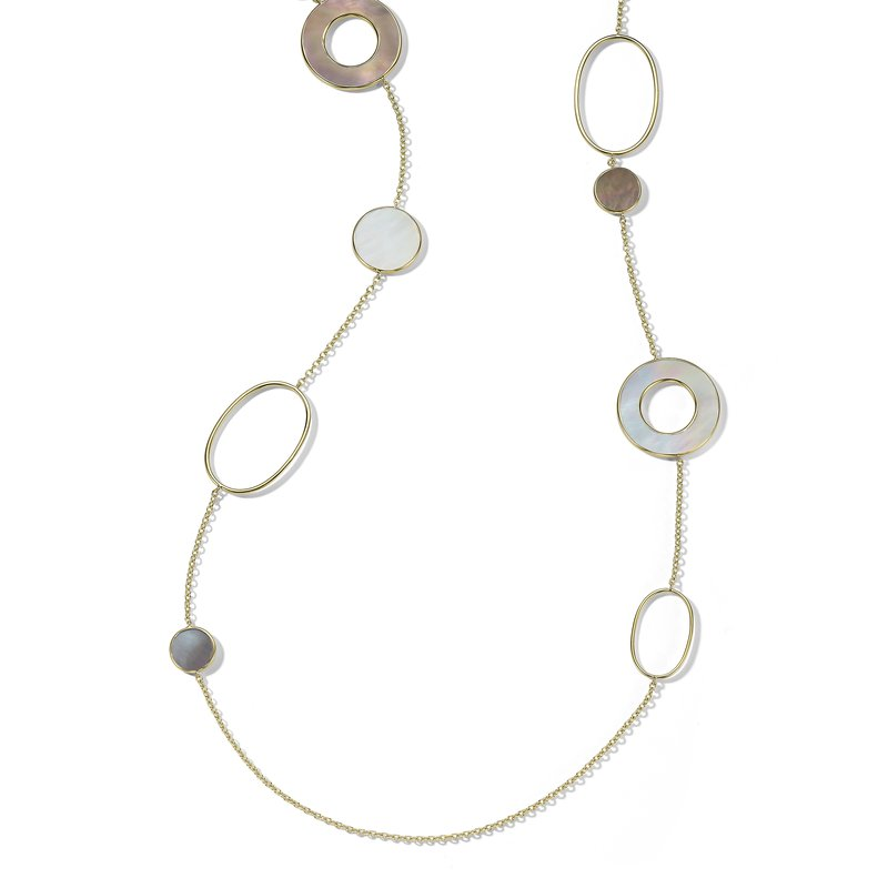 Ippolita 18k Polished Rock Candy Long Necklace