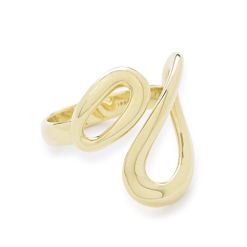 Ippolita 18k Cherish Small Bypass Ring
