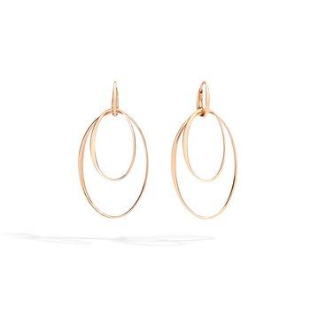18k rose gold earrings