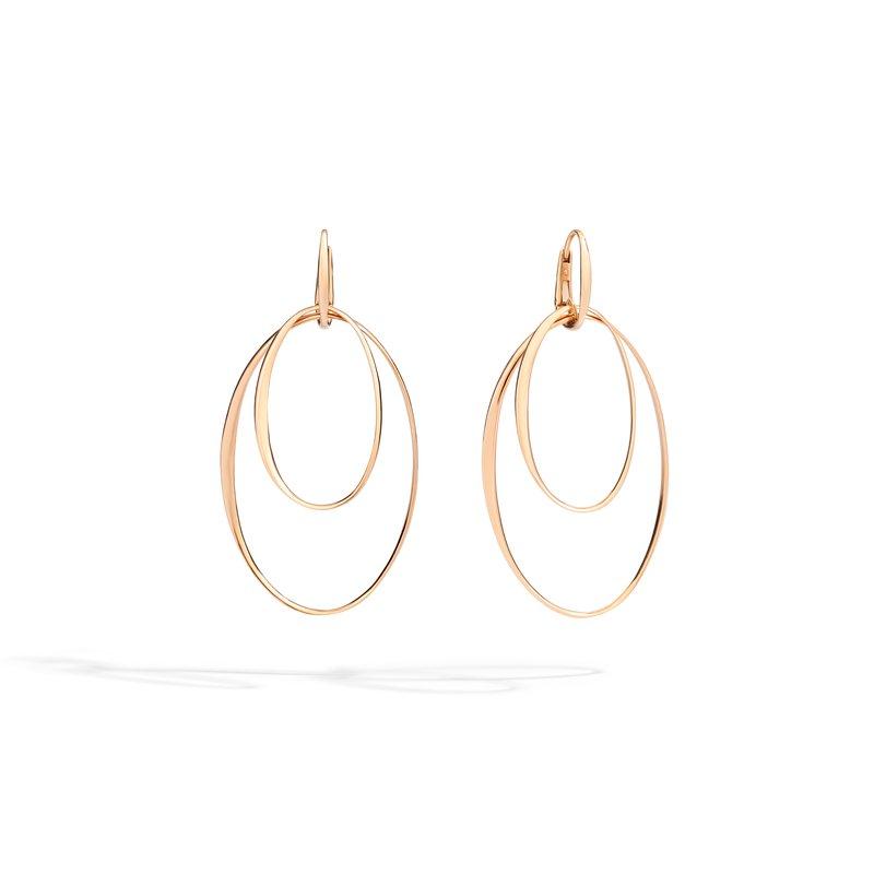 Pomellato 18k rose gold earrings