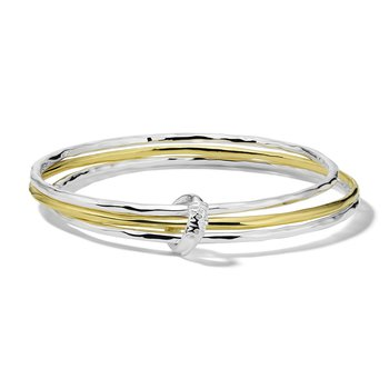 Chimera Classico Mixed Texture Bangle Set