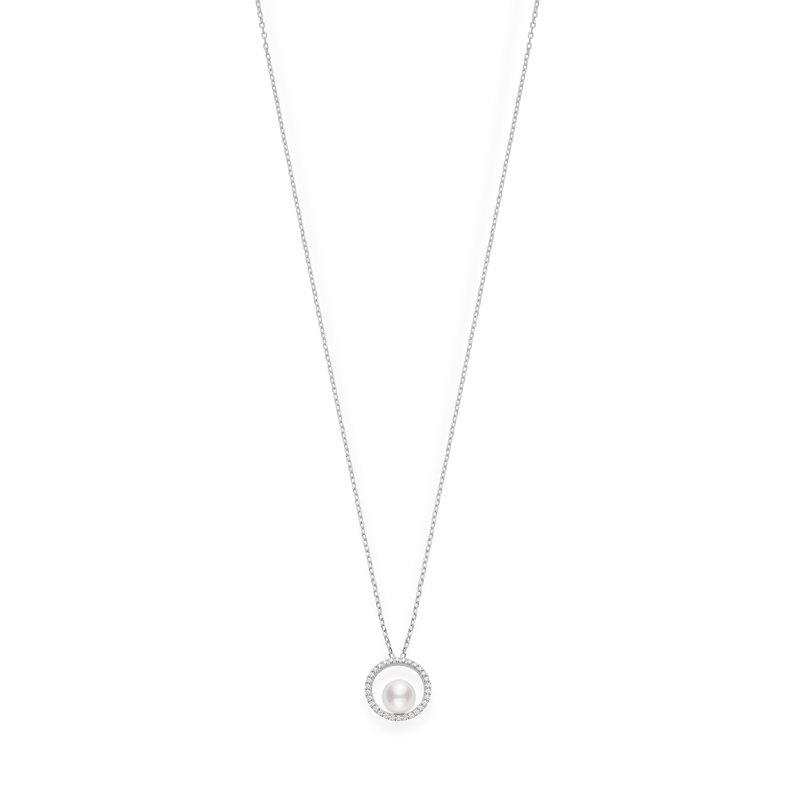 Mikimoto Akoya Diamond Necklace