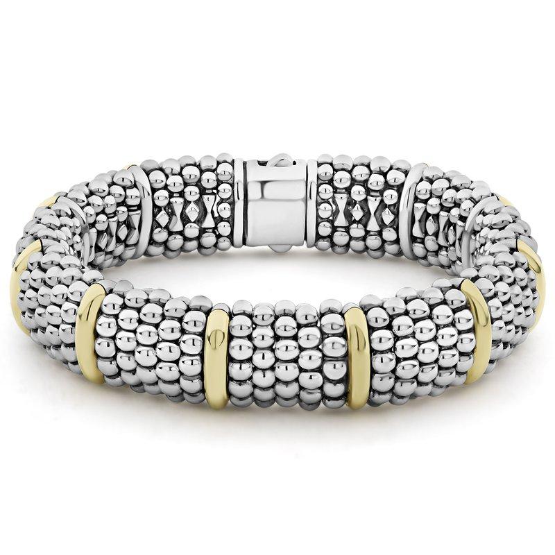 LAGOS Beaded Bracelet with Gold