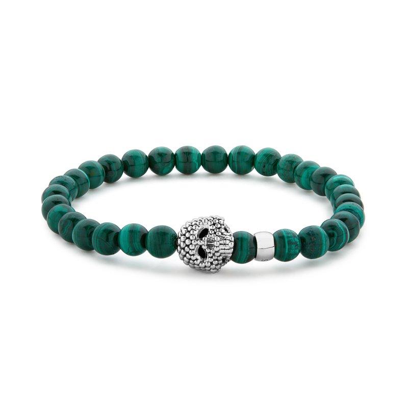 LAGOS Gemstone Skull Bracelet