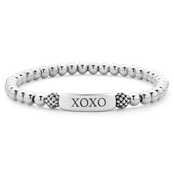 XOXO Bead Bracelet