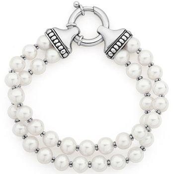 Pearl Two Strand Bracelet
