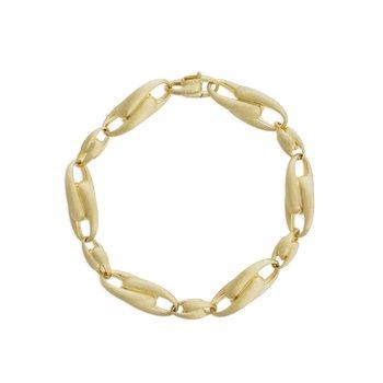 Lucia 18k Large Alternating Link Bracelet