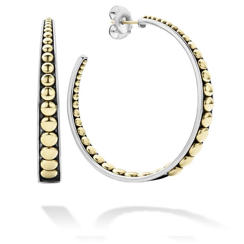 LAGOS Caviar Hoop Earrings