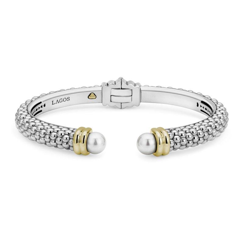 LAGOS Pearl Cuff Bracelet