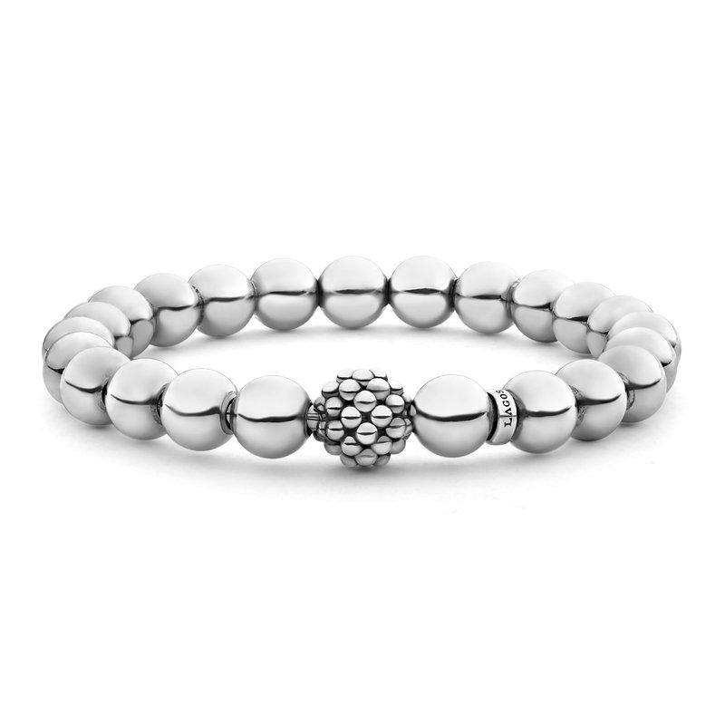 LAGOS Silver Bead Bracelet