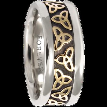 7.5mm 5414 Ladies Celtic Wedding Band