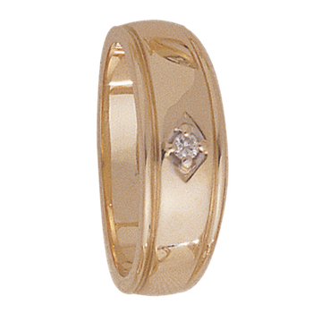 7.5mm 5040 Mens Tapered Wedding Band