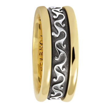 7.5mm 5410 Ladies Celtic Wedding Band