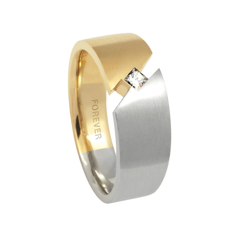 Cadman Catalog 7.5-5mm 5764 Mens Tapered Wedding Band