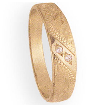 6mm 342 Mens Tapered Wedding Band