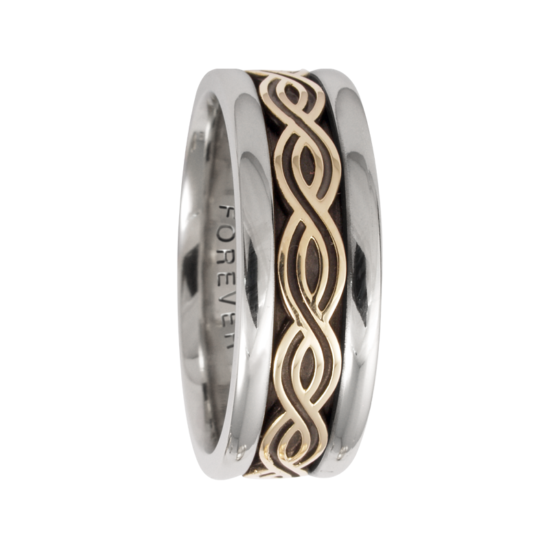 Cadman Catalog 7.5mm 5422 Mens Celtic Wedding Band