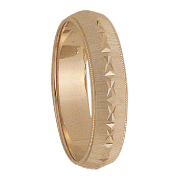 6mm 7T28 Mens Wedding Band