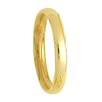 3mm 3T18 Tiffany Comfort Curve Ladies Wedding Band
