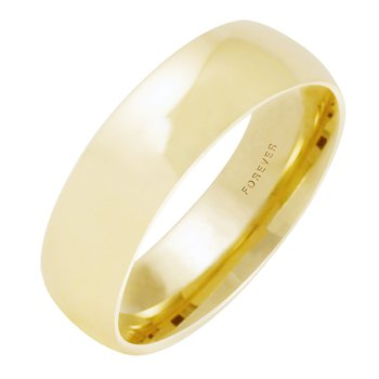 7mm 7T18 Mens Tiffany Comfort Curve Wedding Band