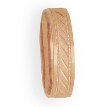 6mm 4T08 Mens Comfort Curve Wedding Band