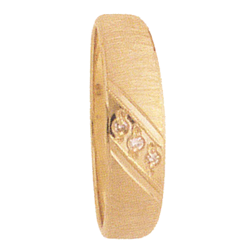 6mm 946 Mens Tapered Wedding Band