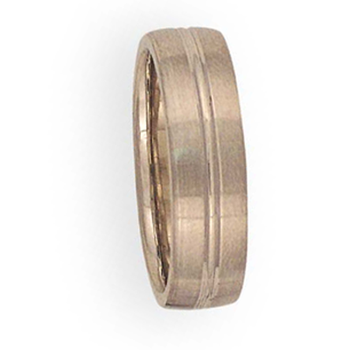 6mm 6T70 Mens Comfort Curve Wedding Band