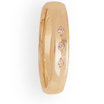 4mm WE29 Ladies Comfort Curve Wedding Band