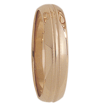 6mm 1T94 Mens Wedding Band