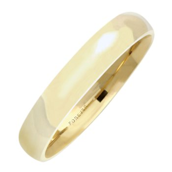 4mm 4T18 Mens Tiffany Comfort Curve Wedding Band