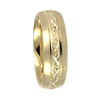 6mm 7T74 Ladies Comfort Curve Wedding Band