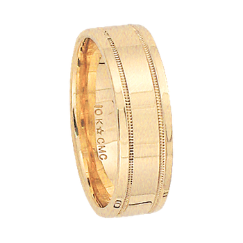 6mm 6T34 Ladies Comfort Curve Wedding Band