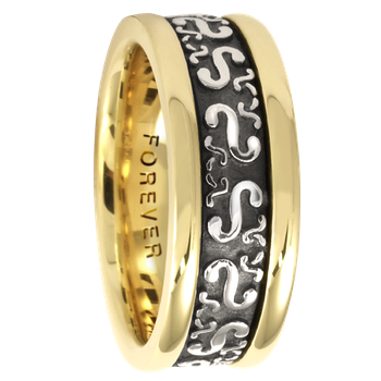 7.5mm 5412 Ladies Celtic Wedding Band