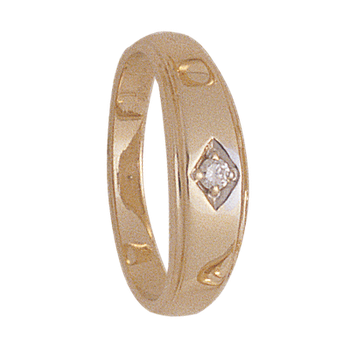 5mm 4927 Ladies Tapered Wedding Band