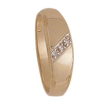 6mm 4932 Mens Tapered Wedding Band