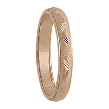3mm 7T21 Ladies Wedding Band