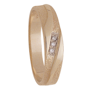 5mm 5044 Mens Tapered Wedding Band