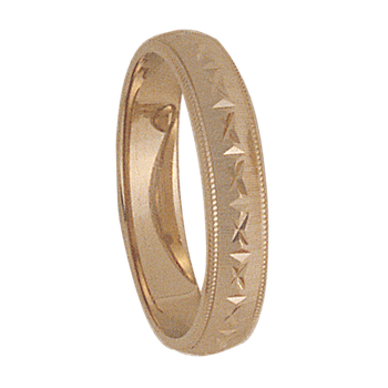 4mm 7T29 Ladies Wedding Band