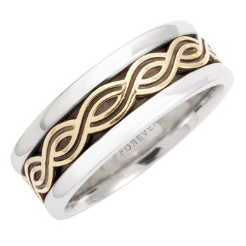MENS CELTIC TWIST WEDDING BAND