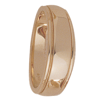 7.5mm 5030 Mens Tapered Wedding Band