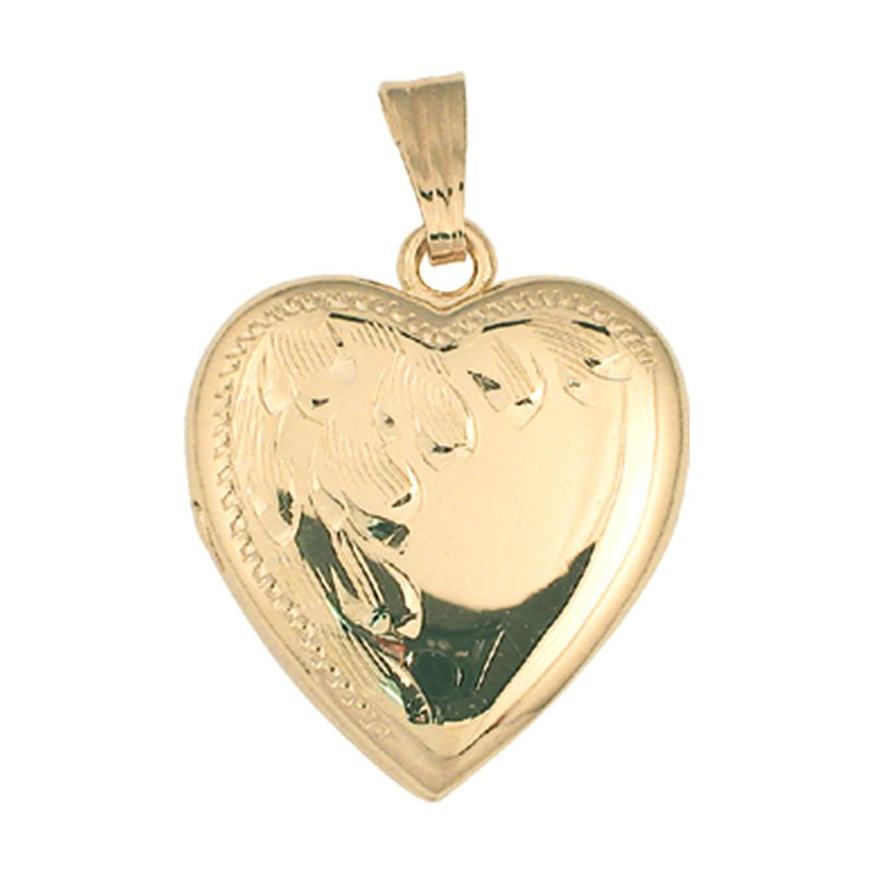 Cadmans HAND-ENGRAVED HEART SHAPED LOCKET