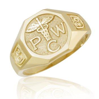 PCW mans ring