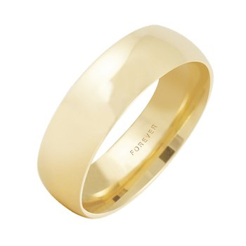 7mm Wide Ladies Tiffany Comfort Curve Wedding Band
