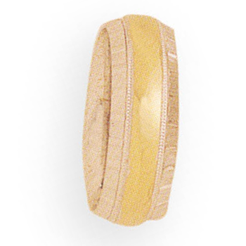 7mm 4T96 Ladies Two-Tone Wedding Band