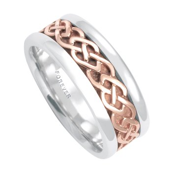 7.5mm 5296 Ladies Celtic Link Wedding Band