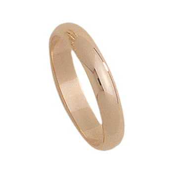 4mm 4001 Mens Light Weight Tiffany Wedding Band