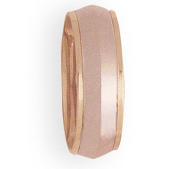 8mm 4T36 Mens Two-Tone Wedding Band