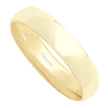 MENS TIFFANY COMFORT CURVE WEDDING BAND