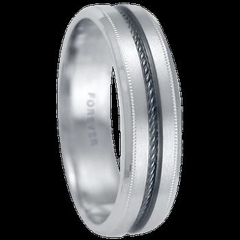 6mm 1T080 Mens Comfort Curve Wedding Band