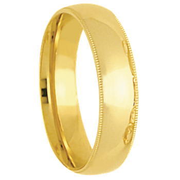 6T18B Mens Wedding Band